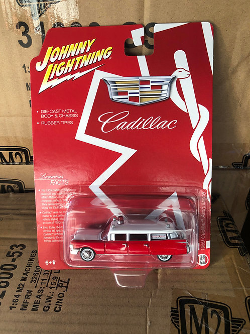 Johnny Lightning 1959 Cadillac Ambulance Station Wagon