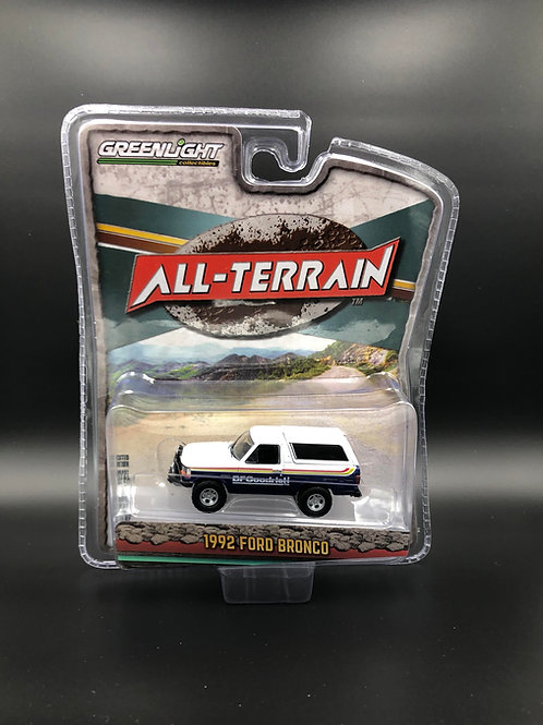 Greenlight All Terrain 10 1992 Ford Bronco 4x4
