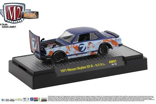 M2 Auto Mods 7 1971 Nissan Skyline GT-R