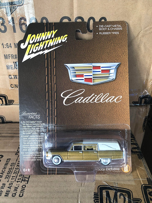Johnny Lightning 1959 Cadillac Hearse Station Wagon