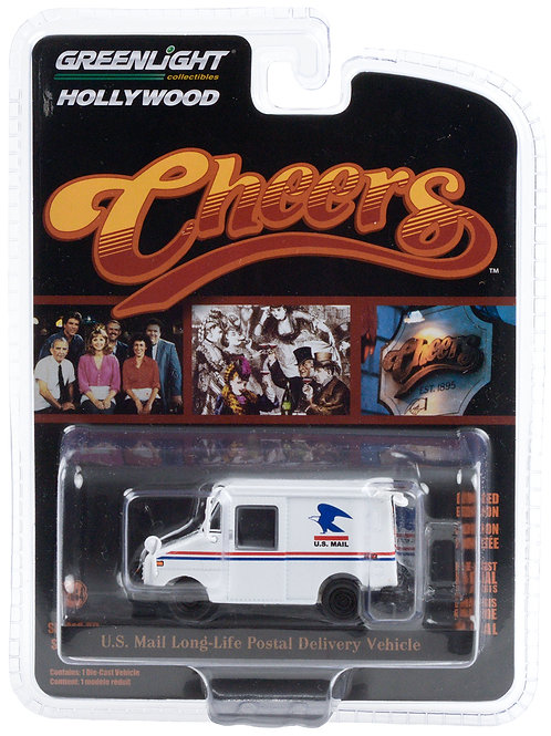 Greenlight Hollywood 29 Cheers US Mail Long Life Postal Vehicle