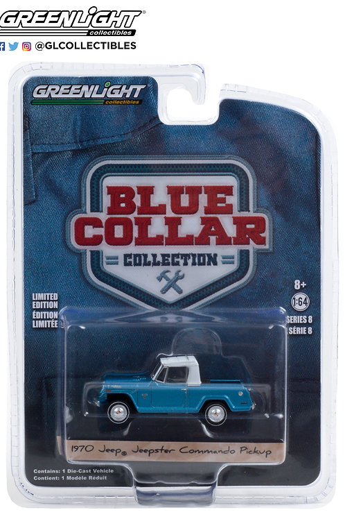 Greenlight Blue Collar 8 1970 Jeepster Commando Pick Up