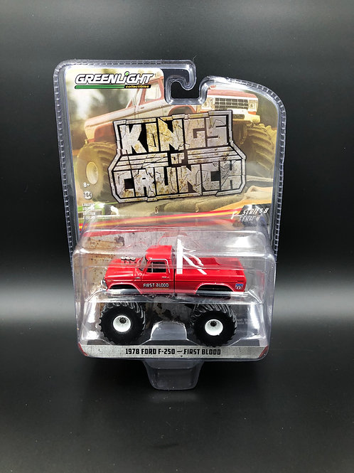 Greenlight Kings of Crunch 8 1978 Ford F250