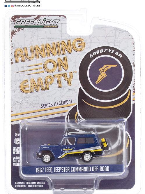 Greenlight Running on Empty 11 1967 Jeep Jeepster Commando 4x4