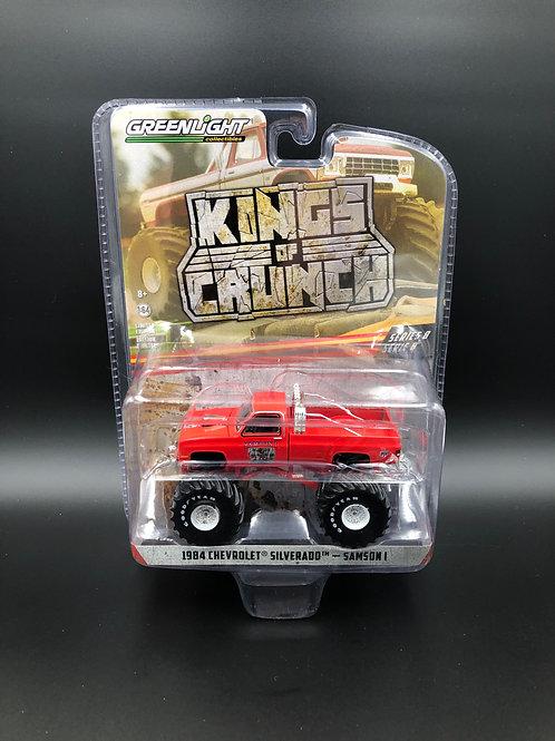Greenlight Kings of Crunch 8 1984 Chevy Silverado