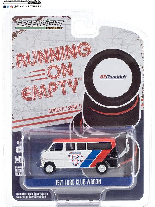 Greenlight Running on Empty 11 1971 Ford Club Wagon Van