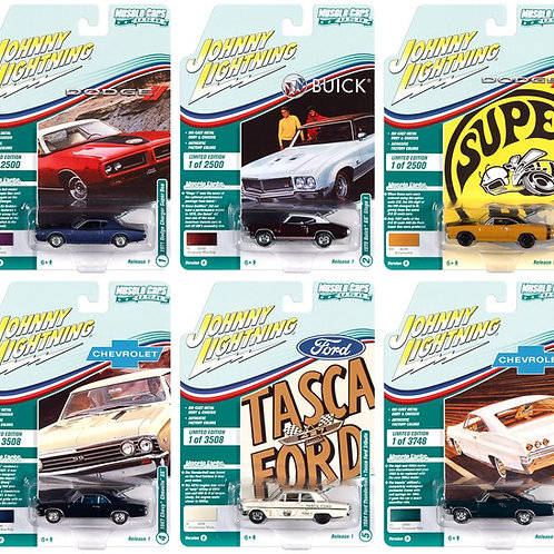 Johnny Lightning Muscle Cars 1 Version B Sealed Inner