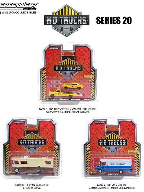 Greenlight HD Trucks 20 Complete Set