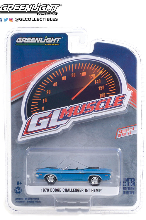 Greenlight GLMuscle 24 1970 Dodge Challenger Convertible