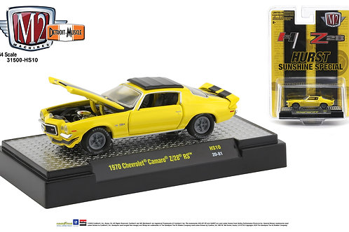 M2 Hobby Dealers 1970 Chevy Camaro Z/28 RS Hurst Sunshine Special