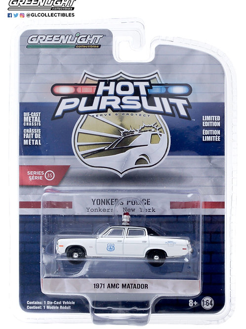 Greenlight Hot Pursuit 35 1971 AMC Matador