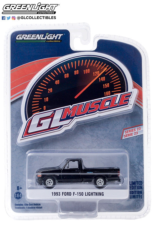 GL Muscle 23 1993 Ford F-150 Lightning Pick Up Truck