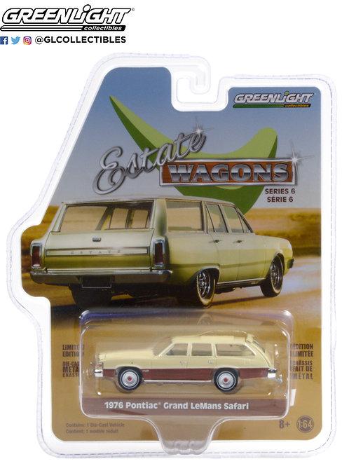 Greenlight Estate Wagons 6 1976 Pontiac Grand Lemans Safari