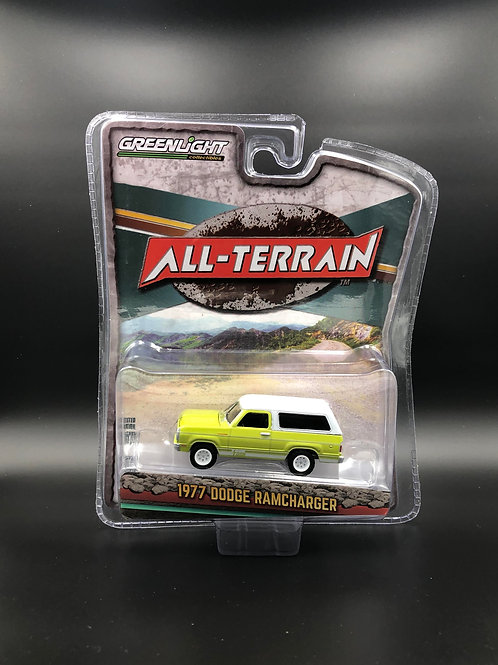 Greenlight All Terrain 10 1977 Dodge Ramcharger 4x4