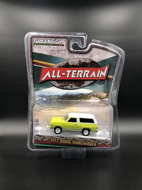 Greenlight All Terrain 10 1977 Dodge Ramcharger 4x4