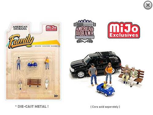 American Diorama MiJo Exclusive Family People Set