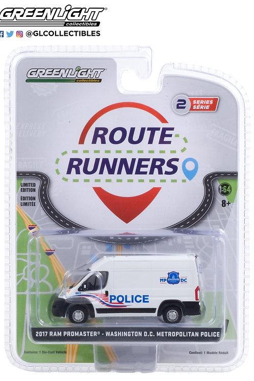 Greenlight Route Runners 2 2017 Ram Promaster 2500 Washington DC Metro Police