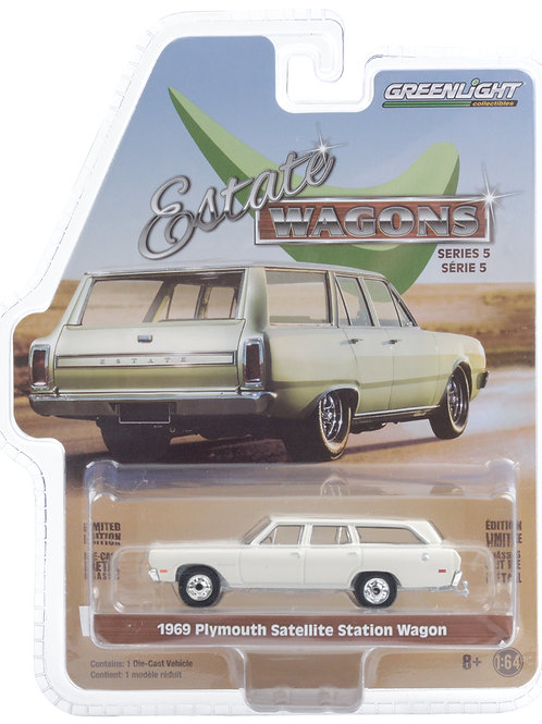 Greenlight Estate Wagons 5 1969 Plymouth Satellite Station Wagon