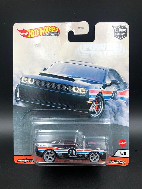 Hot Wheels Car Culture Power Trip 2018 Dodge Challenger SRT Demon