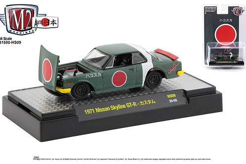 M2 Hobby Dealers Only Auto Japan 1971 Nissan Skyline GT-R