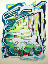 Jenny Hutchinson Art_Sunlit Path_Abstrac