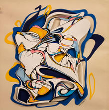 Jenny-Hutchinson-Art_Triadic-Trio_Botani