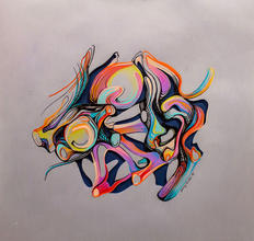 Jenny-Hutchinson-Art_Tree-Root-Study-One