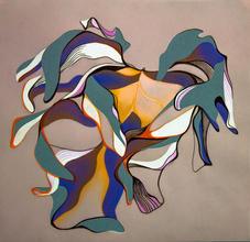 Jenny-Hutchinson Art_Leaf-Study-Three_Mi