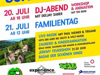 Archiv: 1. Hirschhorner Schlossfest