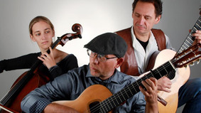 Live-Musik im Schaufenster Garten-Edition: Trio Trimelli