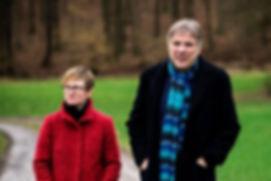 Didi Leineberger und Karl Schramm