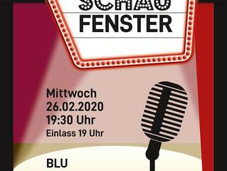 Archiv: Live-Musik im Schaufenster: BLU alias Gigu Neutsch, Rolf Schaude & Neo Stephanou