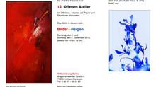 Archiv: Ausstellung zum offenen Atelier bei Wilfried Georg Barber - Die Musik der Natur
