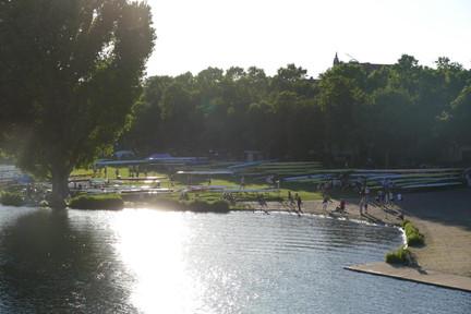 Wasserschachtel an der Neckarwiese
