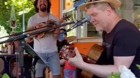 """LIVE beim FLATSEBATSER: Jochen Seiterle und Rodolfo Lehnebach """"Django-Projekt"""""""