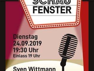 Archiv: Live-Musik im Schaufenster: Sven Wittmann