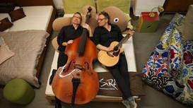 LIVE beim FLATSEBATSER: Duo Lagerfeld