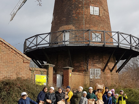 Visit to Green's Mill, Sneinton