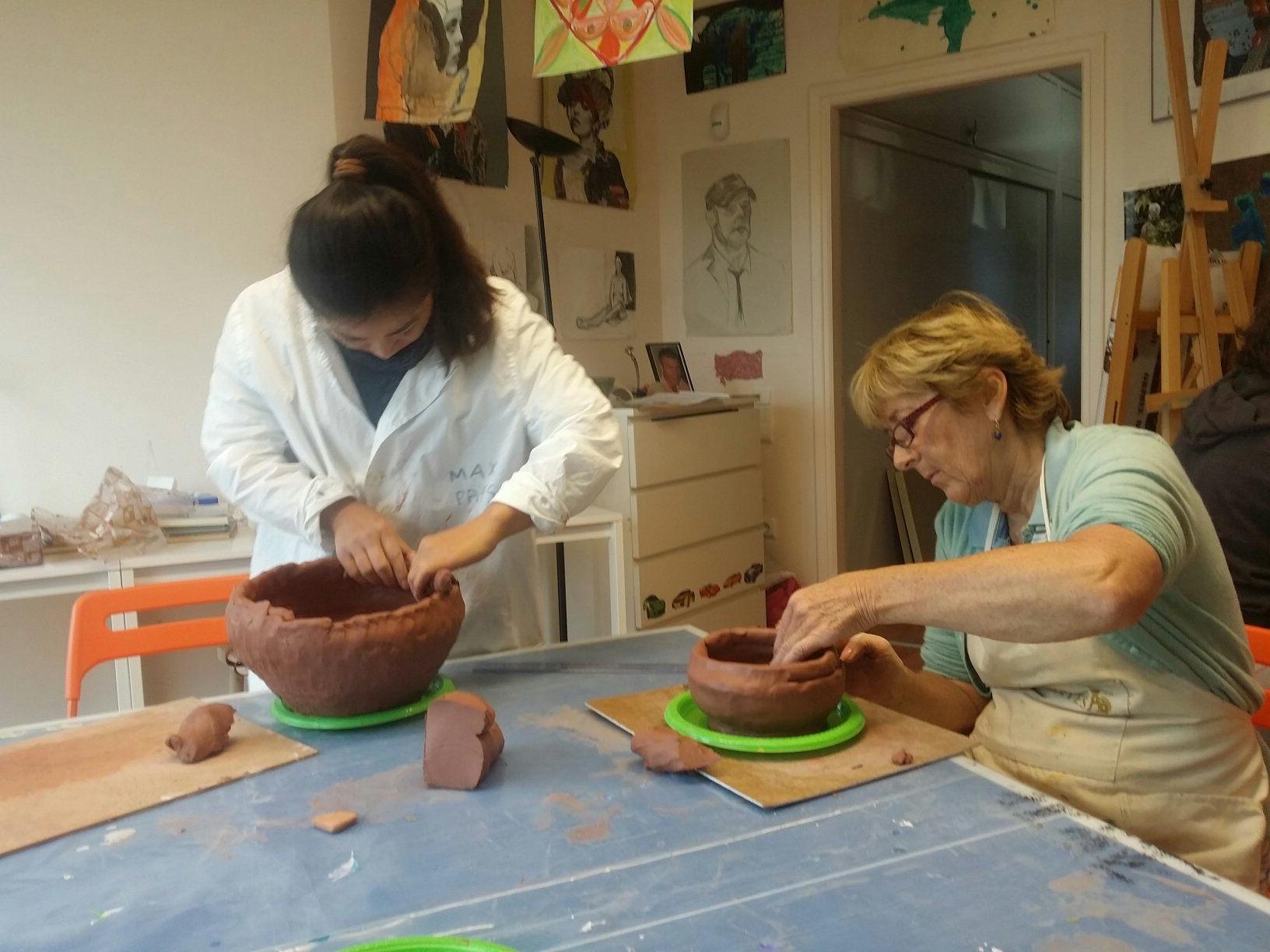 Making Mexican bowls