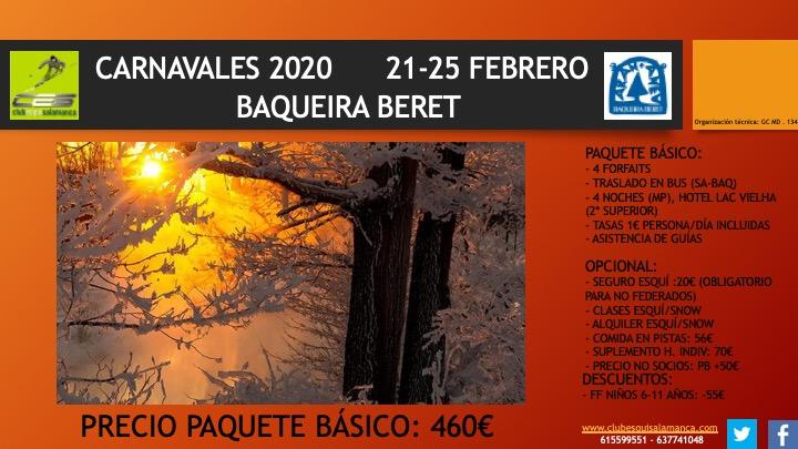 CES BAQUEIRA CARNAVALES 2020
