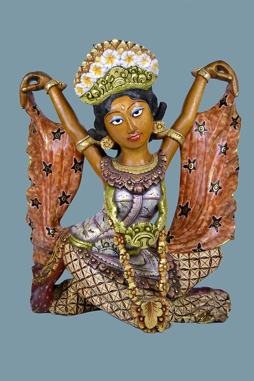 A Very Fine Legong Dancer sculpture