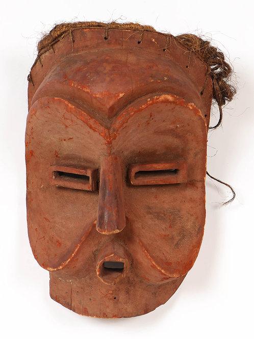 """Very Rare African Mbunda """"Sachihongo"""" mask"""