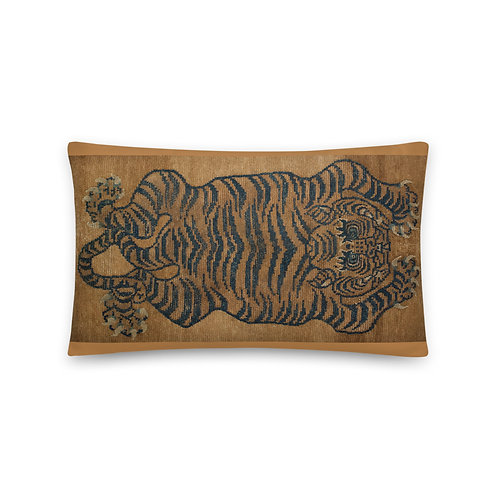 Tibetan Tiger Rug Pillow