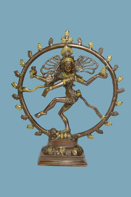 Shiva Nataraj Bronze Sculpture from India