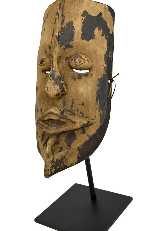 A Dayak Dance mask from Borneo