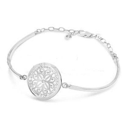 Flower Grain Bar Bracelet