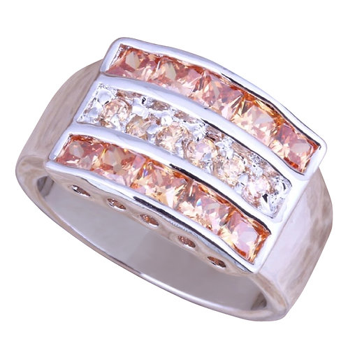 Champagne Morganite Ring