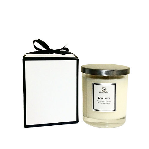 Luxury Scented Candle- Log Fires
