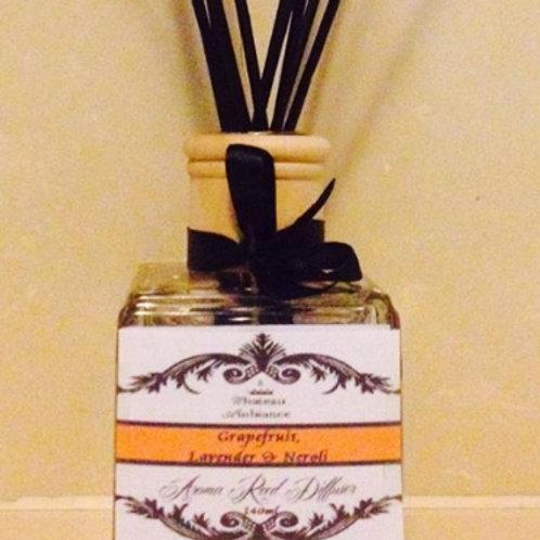 Aroma Reed Diffuser- Grapefruit, Lavender & Neroli