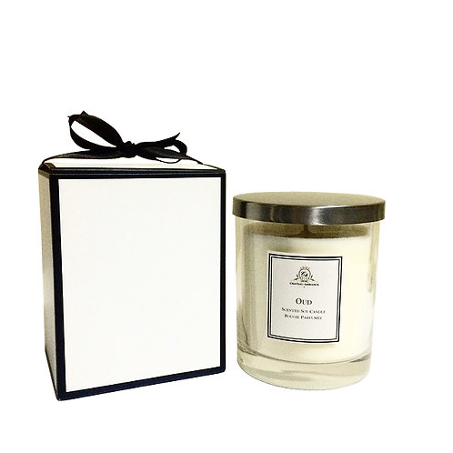 Luxury Scented Candle- Oud